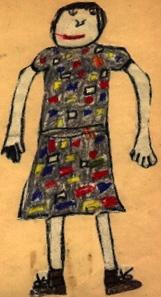 Self Portrait Age 7
