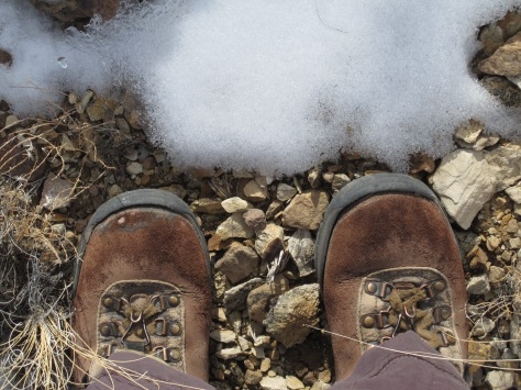 Boots Syncline Snow